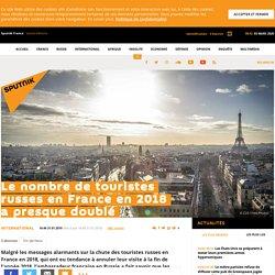 Le nombre de touristes russes en France en 2018 a presque doublé - Sputnik Fr...