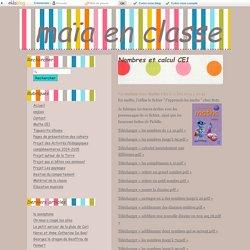 Nombres et calculs - leçons picbille CE1