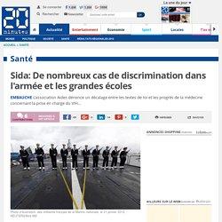 Sida: De nombreux cas de discrimination dans l'armée et les grandes écoles