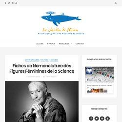 Fiches de Nomenclature des Figures Féminines de la Science