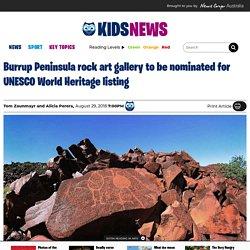 WA to nominate Burrup Peninsula Murujuga Aboriginal rock art for UNESCO World Heritage listing