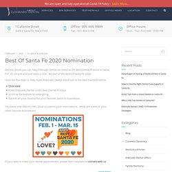 Best of Santa Fe 2020 Nomination – Eldorado Dental