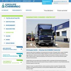 Nominations CHIMIREC Centre Est