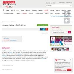 Nomophobie - Définition