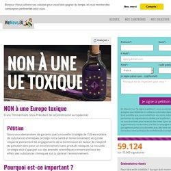 NON à une Europe toxique