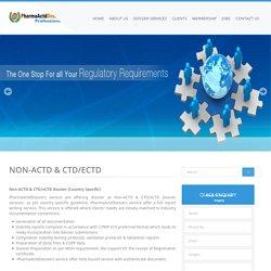 Non-ACTD & CTD/eCTD - Pharma