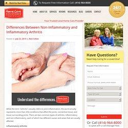 Non-Inflammatory vs Inflammatory Arthritis