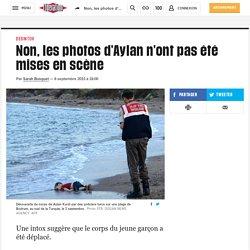 Libération - Non, les photos d'Aylan n'ont pas été mises en scène