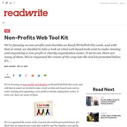 Non-Profits Web Tool Kit