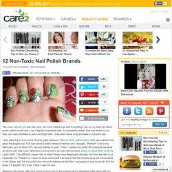 12 Non-Toxic Nail Polish Brands