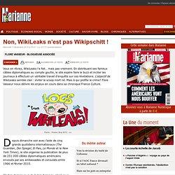 Non, WikiLeaks n''est pas Wikipschitt !