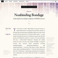 Nonbinding Bondage - Nonbinding Bondage