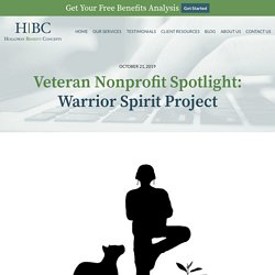 Veteran Nonprofit Spotlight:Warrior Spirit Project - Holloway Benefit Concepts