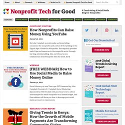 Nonprofit Tech 2.0 Blog :: A Social Media Guide for Nonprofits