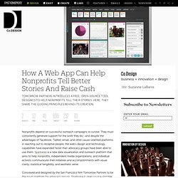 How A Web App Can Help Nonprofits Tell Better Stories And Raise Cash