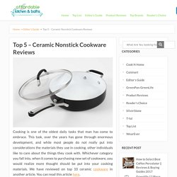 Ceramic Nonstick Cookware Reviews