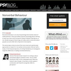 Nonverbal Behaviour