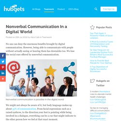 Nonverbal Communication In a Digital World