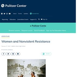 Women and Nonviolent Resistance