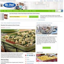 Noodles Pennsylvania Dutch Kluski