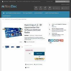 Ham It Up v1.2 - RF Upconverter For Software Defined Radio