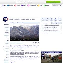 Deel Noorse berg dreigt af te breken
