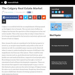 The Calgary Real Estate Market