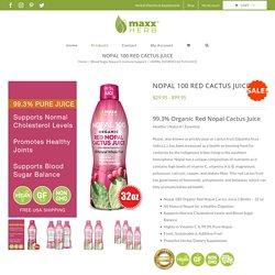 99.3% Pure Organic Red Nopal Juice