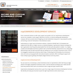 nopCommerce Development Services