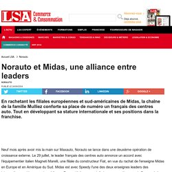 Norauto et Midas, une alliance entre leaders