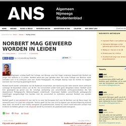 Norbert mag geweerd worden in Leiden 23/06/2008
