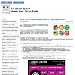 """PREFECTURE DU NORD PAS DE CALAIS 18/09/14 Lutte contre le gaspillage alimentaire : """"My poubelle is rich"""""""