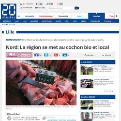 20MINUTES 12/01/15 Nord: La région se met au cochon bio et local