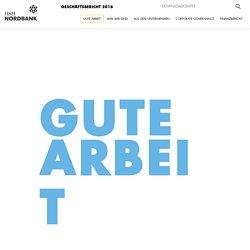 HSH Nordbank AG Geschäftsbericht 2016 - Gute Arbeit
