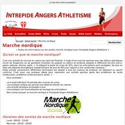 Marche nordique à l'Intrépide Angers - Intrépide d'Angers Athlétisme