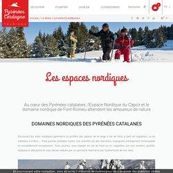 Les espaces nordiques en Pyrénées Catalanes