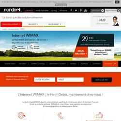 Nordnet, Internet WiMAX : le Haut-Débit « clé en main » avec NordNet