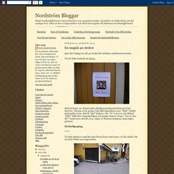 Nordström Bloggar: En magisk 40-årsfest