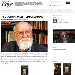 THE NORMAL WELL-TEMPERED MIND