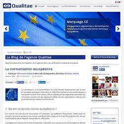 La normalisation européenne