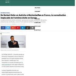 De Norbert Hofer en Autriche à Marine Le Pen en France, la normalisation implacable de l'extrême droite en Europe