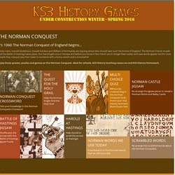 The Norman Conquest - KS3 History Games