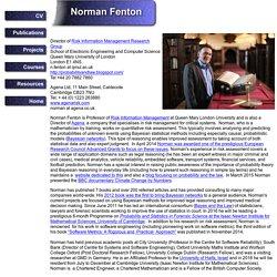 Norman Fenton homepage