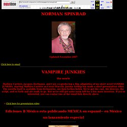 NORMAN SPINRAD'S HOME PAGE