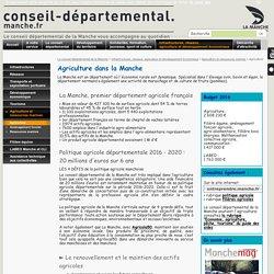 [Département de la Manche] - La politique agricole du CD 50