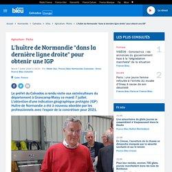"""FRANCE BLEU 07/07/20 L'huître de Normandie """"dans la dernière ligne droite"""" pour obtenir une IGP"""