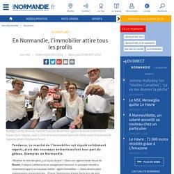 En Normandie, l'immobilier attire tous les profils