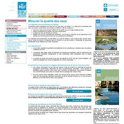 Eau-Seine-Normandie - Mesurer la qualité des eaux