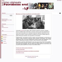 normandie.patrimoine-oral.org