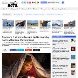 Première Nuit de la lecture en Normandie : notre sélection d'animations